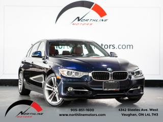 Used 2015 BMW 3 Series 328i xDrive|Sport Line|Navigation|Camera|Red Leather|Sunroof for sale in Vaughan, ON