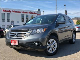 Used 2012 Honda CR-V Touring - Navigation - Leather - Sunroof for sale in Mississauga, ON