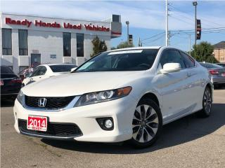 Used 2014 Honda Accord Coupe EX - Sunroof - Rear Camera - Heated Seats for sale in Mississauga, ON