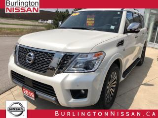 Used 2019 Nissan Armada Platinum for sale in Burlington, ON