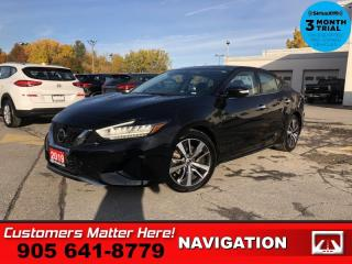 Used 2019 Nissan Maxima SL Sedan  NAV LEATH ROOF CAM P/SEATS for sale in St. Catharines, ON