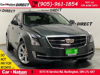 Used 2015 Cadillac ATS 2.0L Turbo Performance| SUNROOF| NAVI| for sale in Burlington, ON