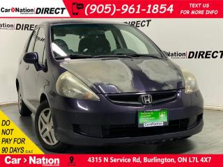 Used 2008 Honda Fit LX| AS-TRADED| ONE PRICE INTEGRITY| for sale in Burlington, ON