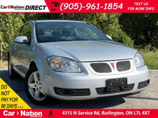 Used 2008 Pontiac G5 | AS-TRADED| SUNROOF| OPEN SUNDAYS| for sale in Burlington, ON