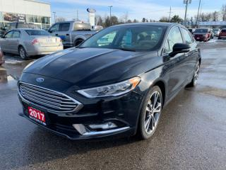Used 2017 Ford Fusion Titanium  - Trade-in - Local for sale in Woodstock, ON