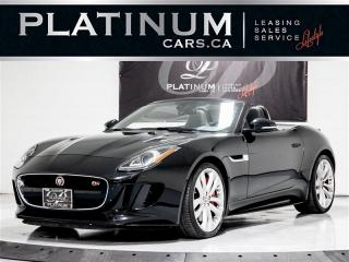 Used 2016 Jaguar F-TYPE S, AWD, VISION, NAVI,CAM, MERIDIAN, FULLY LOADED F-TYPE for sale in Toronto, ON