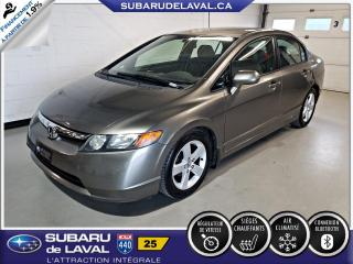 Used 2007 Honda Civic Lx *Bas Kilométrage* for sale in Laval, QC