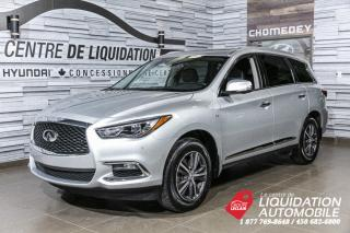 Used 2018 Infiniti QX60 TOIT+MAGS+CUIR+NAVI for sale in Laval, QC