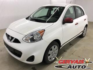 Used 2016 Nissan Micra SV A/C *Bas Kilométrage* for sale in Shawinigan, QC