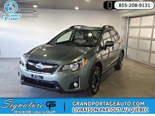 Used 2016 Subaru XV Crosstrek 2.0i Touring CVT AWD **BAS KILO** for sale in Rivière-Du-Loup, QC