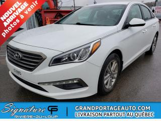 Used 2016 Hyundai Sonata SE,berline 2,4 L 4 portes AUTOMATIQUE for sale in Rivière-Du-Loup, QC