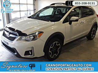 Used 2016 Subaru XV Crosstrek 2.0i Limited Manuelle Toit Cuir Nav *RAR for sale in Rivière-Du-Loup, QC