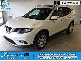 Used 2016 Nissan Rogue AWD,SV, TOIT PANO*CLEAN* for sale in Rivière-Du-Loup, QC