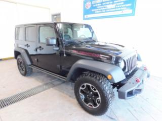 Used 2016 Jeep Wrangler Unlimited Rubicon LEATHER NAVI *MANUAL* for sale in Listowel, ON
