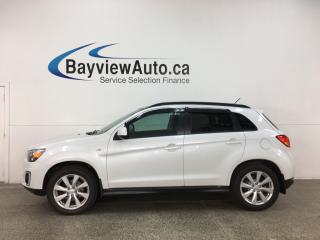 Used 2015 Mitsubishi RVR GT - 4WD! HEATED SEATS! PANOROOF! PWR GROUP! ALLOYS! for sale in Belleville, ON