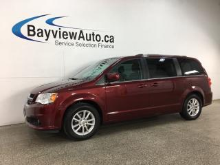 Used 2019 Dodge Grand Caravan CVP/SXT - DVD! DUAL CLIMATE! LTHR TRIM! ALLOYS for sale in Belleville, ON