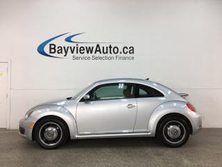 Used 2016 Volkswagen Beetle 1.8 TSI Classic - AUTO! PANOROOF! HTD 1/2 LTHR! NAV! ALLOYS! + MUCH MORE! for sale in Belleville, ON