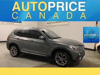 Used 2016 BMW X3 xDrive35i 6CYL|HEADS UP|NAVI|360 CAM AND MORE for sale in Mississauga, ON