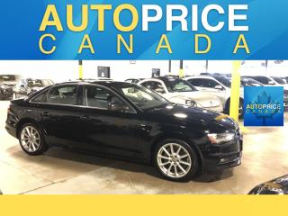 Used 2015 Audi A4 2.0T Progressiv plus S-LINE|NAVIGATION AND MORE for sale in Mississauga, ON