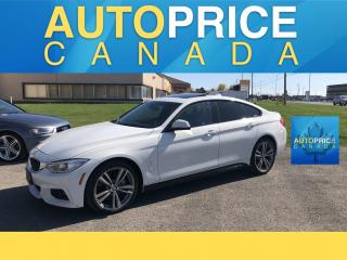 Used 2016 BMW 4 Series 435 Gran Coupe i xDrive MOONROOF|NAVIGATION|LEATHER for sale in Mississauga, ON