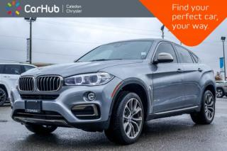 Used 2016 BMW X6 xDrive35i AWD|Navi|Pano Sunroof|Backup Cam|Bluetooth|Leather|Heated Front Seats|20