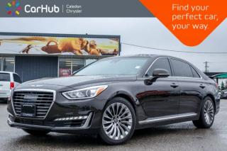 Used 2018 Genesis G90 3.3T AWD|Navi|Sunroof|Blind Spot|Backup cam|Bluetooth|Heat & Ventilated Front Seats|19