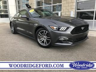 Used 2016 Ford Mustang EcoBoost for sale in Calgary, AB