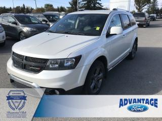 Used 2016 Dodge Journey Crossroad One Owner - Third Row Seating for sale in Calgary, AB