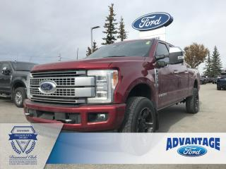 Used 2019 Ford F-350 Platinum Twin Panel Moonroof - Trailer Tow Package for sale in Calgary, AB