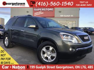 Used 2011 GMC Acadia SLE | AWD | CAPTAINS | HEATED SEATS | V6 | for sale in Georgetown, ON