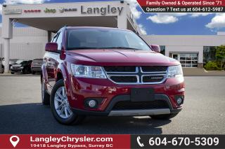 Used 2015 Dodge Journey SXT *THIRD ROW SEATS* *DVD* *BACKUP CAMERA* *NAVI* for sale in Surrey, BC