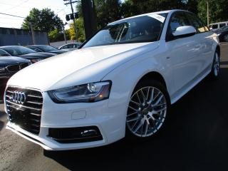 Used 2015 Audi A4 2.0T S-LINE KOMFORT QTRO|ONE OWNER|37,000KM !!! for sale in Burlington, ON