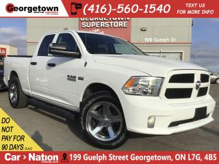 Used 2017 RAM 1500 EXPRESS | QUAD CAB | 4X4 | HEMI | BLUETOOTH | for sale in Georgetown, ON