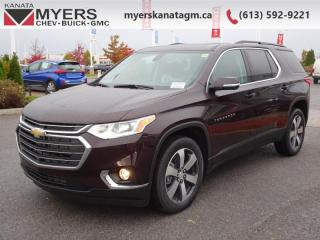 New 2020 Chevrolet Traverse LT True Noth  - Navigation for sale in Kanata, ON