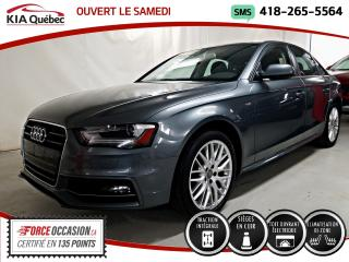 Used 2016 Audi A4 KOMFORT* PLUS* QUATTRO* AWD* CUIR* TOIT* for sale in Québec, QC