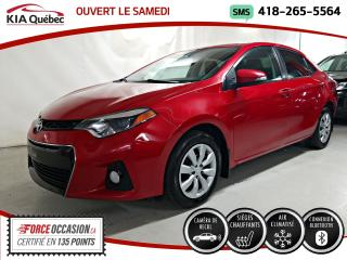 Used 2016 Toyota Corolla S* A/C* SIEGES CHAUFFANTS* CAMERA DE RECUL* for sale in Québec, QC