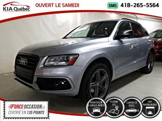 Used 2016 Audi Q5 2.0T* TEKNIK* S-LINE* AWD* GPS* TOIT PANO* CUIR* for sale in Québec, QC