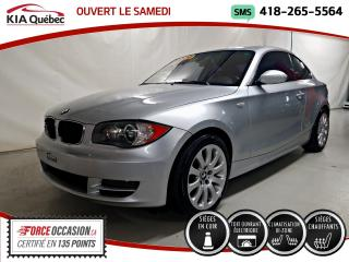 Used 2008 BMW 1 Series 128I* COUPE* MAN* V6* SIEGES CHAUFFANTS* for sale in Québec, QC