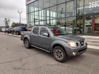 Used 2016 Nissan Frontier PRO-AX CREW CAB 4X4 CUIR TOIT GPS for sale in Lévis, QC