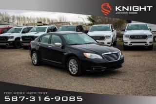 Used 2012 Chrysler 200 Limited - Leather, remote Start, Sunroof for sale in Medicine Hat, AB