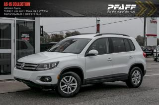 Used 2014 Volkswagen Tiguan Trendline 6sp for sale in Orangeville, ON
