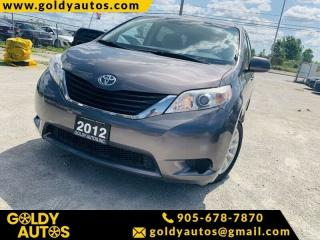 Used 2012 Toyota Sienna 5DR V6 LE 7-PASS AWD for sale in Mississauga, ON