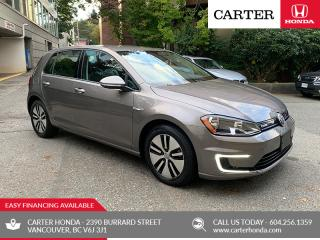 Used 2016 Volkswagen Golf e-Golf SE ELECTRIC + FAST CHARGE! for sale in Vancouver, BC