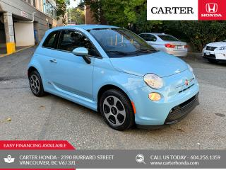 Used 2016 Fiat 500 E ELECTRIC + FAST CHARGE! for sale in Vancouver, BC