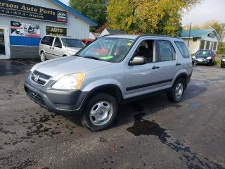 Used 2002 Honda CR-V LX for sale in Madoc, ON