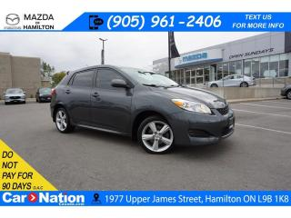 Used 2009 Toyota Matrix XR | CRUISE CONTROL | AUX INPUT | A/C for sale in Hamilton, ON