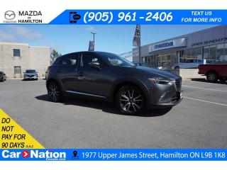 Used 2018 Mazda CX-3 GT | SUNROOF | NAV | XM | BOSE | REAR CAM for sale in Hamilton, ON
