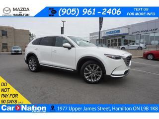 Used 2017 Mazda CX-9 Signature SIGNATURE | LEATHER | SUNROOF | NAV | AWD for sale in Hamilton, ON