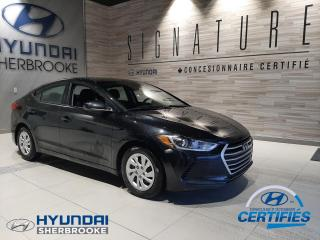 Used 2017 Hyundai Elantra BAS KILO! LE+A/C+BANCS CHAUF+BLUETOOTH for sale in Sherbrooke, QC