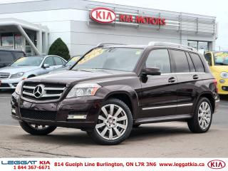 Used 2011 Mercedes-Benz GLK-Class GLK 350 for sale in Burlington, ON